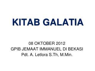 KITAB GALATIA