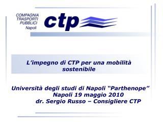 L'impegno di CTP per una mobilità sostenibile
