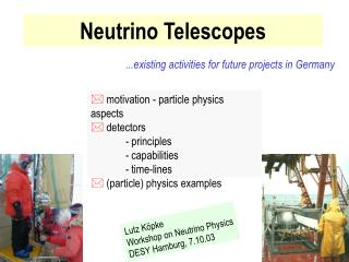Neutrino Telescopes