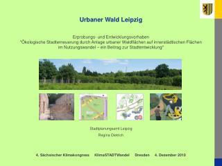 Urbaner Wald Leipzig