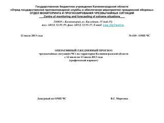Государственное бюджетное учреждение Калининградской области