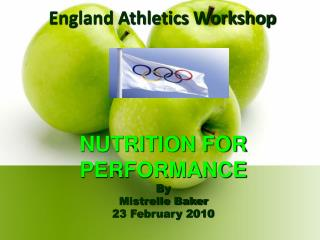 England Athletics Workshop