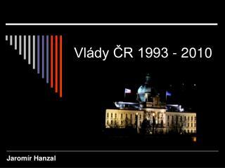 Vlády ČR 1993 - 2010