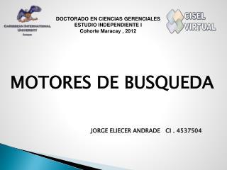 MOTORES DE BUSQUEDA