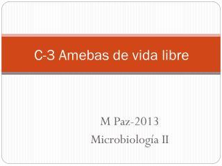 C-3 Amebas de vida libre