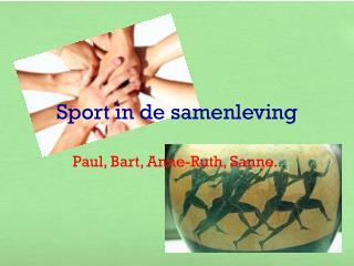 Sport in de samenleving