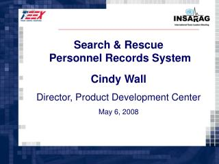 Search & Rescue  Personnel Records System