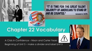 Nixon and Carter