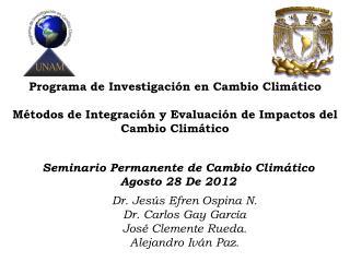 Programa de Investigación en Cambio Climático