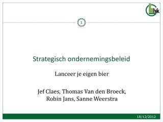 Strategisch ondernemingsbeleid