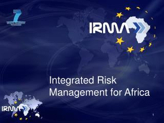 Integrated Risk Management for Africa