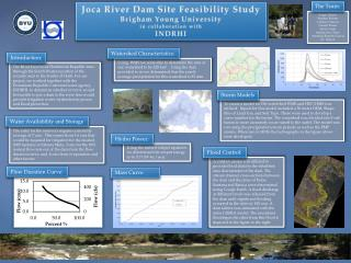 Joca  River Dam Site Feasibility Study Brigham Young University in collaboration with  INDRHI