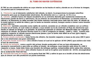 EL TUBO DE RAYOS CATÓDICOS