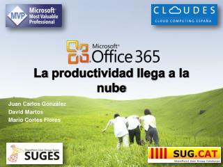 La  productividad llega  a la  nube