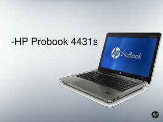 -HP Probook  4431s