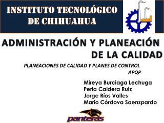 Instituto Tecnol�gico  de Chihuahua