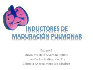 Inductores de Maduración Pulmonar