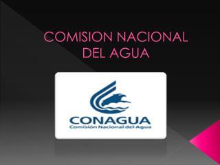 COMISION NACIONAL DEL AGUA