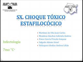 Sx . Choque Tóxico Estafilocócico