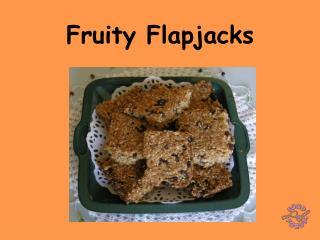 Fruity Flapjacks