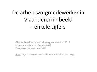 De arbeidszorgmedewerker in Vlaanderen in beeld - enkele cijfers