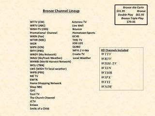 WTTV (CW)                                         Antenna TV