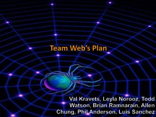 Team Web's Plan
