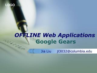 OFFLINE Web Applications Google Gears