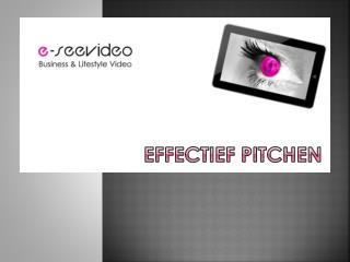 Effectief  pitchen