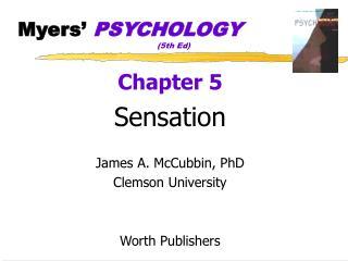 Myers�  PSYCHOLOGY (5th Ed)