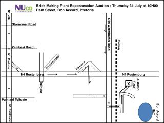 Brick Making Plant Repossession Auction : Thursday 31 July at 10H00