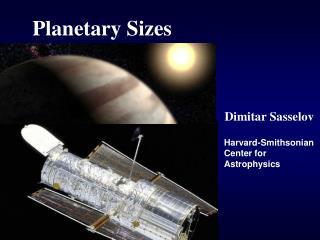 Planetary Sizes