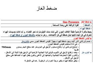 ضغط الغاز