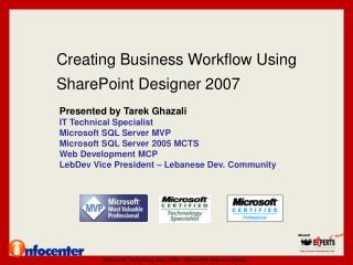 Creating Business Workflow Using SharePoint Designer 2007