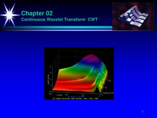 Chapter 02 Continuous Wavelet Transform  CWT