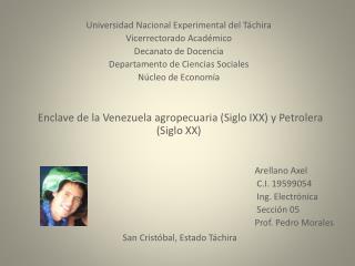 Universidad Nacional Experimental del Táchira Vicerrectorado Académico Decanato de Docencia