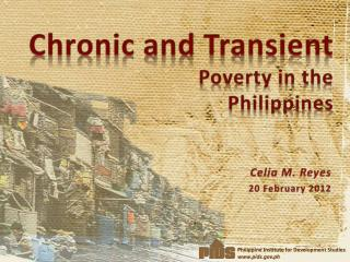 Chronic and Transient Poverty in the Philippines