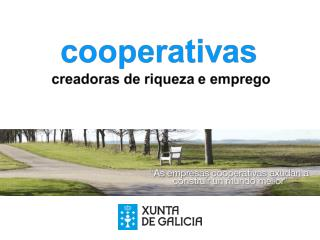 a cooperativa é