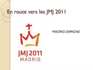 En route vers les JMJ 2011