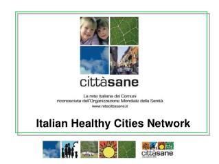 Italian Healthy Cities Network