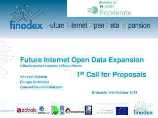 Future  Internet Open Data  Expansion @ finodexproject  # opendata  # fippp  # fiware