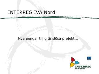 INTERREG IVA Nord