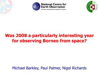 Michael Barkley, Paul Palmer, Nigel Richards