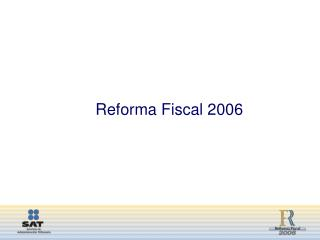 Reforma Fiscal 2006