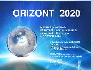 ORIZONT  2020