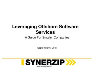 Leveraging Offshore Software Services