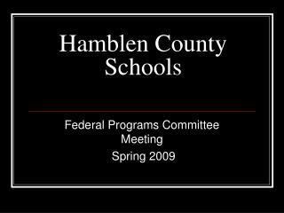 Hamblen County Schools