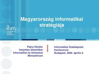 Magyarország informatikai stratégiája