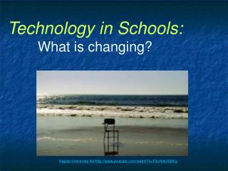 Technology in Schools: What is changing?