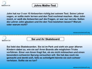 Johns  Mathe -Test
